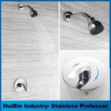 Double détecteur de pluie Hotel SPA double pomme de douche en chrome poli Combo