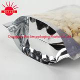 アルミニウム食品等級の証明のプラスチックジッパー袋を立てなさい