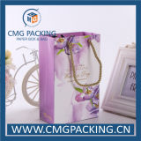 Romantisches Flower Printing Paper Bag mit Handle (CMG-MAY-012)