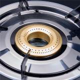 fornello di gas della parte superiore di vetro Tempered di 7mm per la Sri Lanka Jp-Gcg213