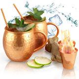 Canecas de cobre de mula de Moscovo perfeito para cocktails e bebidas frias