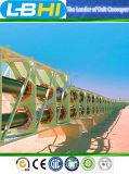 Ленточные транспортеры высокотехнологичного Типичн-Проекта международные изогнутые