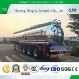 3 de Tanker van de Aanhangwagens van de Stookolie van het Staal van het Aluminium van de as/Aanhangwagen van de Legering van het Roestvrij staal/van het Aluminium de Semi/van de Olietanker van de Koolstof Met Certificatie Asmede