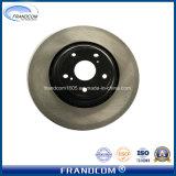 OE disque du rotor de frein de pièces de rechange de voiture pour Lexus