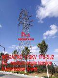 Torretta media della trasmissione di tensionamento di angolo di CC di Megatro 110kv 1f5-Sj2