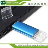 Unidad flash USB OTG con CE, FCC, RoHS certificado