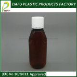 bottiglia di plastica dell'animale domestico della medicina liquida liquida della bottiglia 150ml