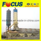 Estación de mezcla concreta de la pequeña huella, planta de procesamiento por lotes por lotes concreta Hzs75