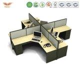 중국 제조자 사무용 가구 4 Seater 칸막이실 워크 스테이션