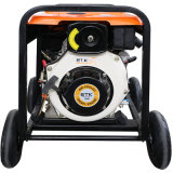 il generatore 5kw con diesel industriale trasporta il potere certo