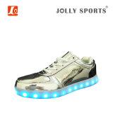 Nuevos deportes ligeros de la manera LED que bailan los zapatos para Women&Men