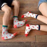 Заводская настройка нового мужчин и женщин яркие цветные носки