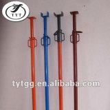 Einkaufen-site-Stahl galvanisierte justierbare Baugerüst-Stütze