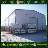 Vertiente prefabricada del edificio de la fábrica de las estructuras de acero de la luz del almacén del bajo costo