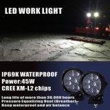 IP69K impermeabilizzano gli indicatori luminosi del lavoro del LED con 45W