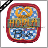 Lustiges Embroidery Badge mit Flannelette Background (BYH-10951)