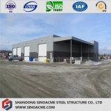 중국 회전 기조 계획 휴대용 Prefabricated 가벼운 강철 구조물 창고