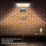 Indicatore luminoso senza fili solare esterno luminoso di obbligazione del sensore di movimento del 21 indicatore luminoso del LED