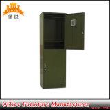 Armadio moderno personalizzato dell'acciaio dei vestiti del portello dei militari 2 dell'esercito