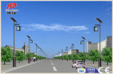 Lâmpada de rua solar do projeto o mais atrasado