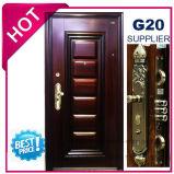 2017最上質の外部の金属の鋼鉄機密保護のドア(EF-S123)