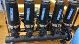 Matériel automatique de filtre de remuement de débit de l'eau élevée d'irrigation par égouttement