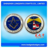 Commemorativesのための柔らかいエナメルのエポキシの挑戦バッジの空軍硬貨の円形浮彫り