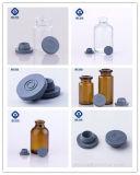 Tappo di gomma di Bromobutyl di colore grigio farmaceutico per la fiala di vetro dell'iniezione