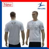Healong 싼 가격 셔츠 남자를 위한 주문 승화 t-셔츠