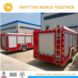 Sinotruk HOWO 4X2 336CV agua y espuma Camión Contra Incendios