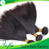 製造業者は新しく膚触りがよくまっすぐなRemyの人間の毛髪のよこ糸を供給する