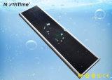 Lâmpada de rua solar controlada do diodo emissor de luz do APP do telefone inteligente do controle de tempo