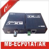 Poe sobre cable coaxial hasta 3, 280ft