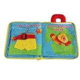 Baby First Book Non-Toxic paño de tela Juguetes Libros