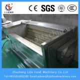 Machine d'écaillement de nettoyage de légumes de machine à laver de pomme de terre de raccord en caoutchouc/roulis de balai