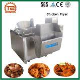 Poulet automatique faisant frire la friteuse faisante frire continue de poulet de système de machine