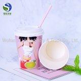 La pared doble disponible imprimió las tazas de papel impresas aduana de las tazas de papel del café