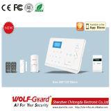 ホームセキュリティーのための二重ネットワークGSM PSTN Cidの住宅用警報装置