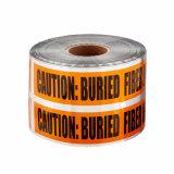 ロールのBOPP/Al/PEの地下の探索可能な警告か注意またはバリケードテープ