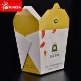 서류상 중국 음식 상자 패턴