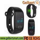 Relógio esperto de Bluetooth do monitor da frequência cardíaca de Gelbert para o Android do Ios