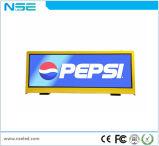 Tassì del Doppio-Lato P2.5 che fa pubblicità allo schermo