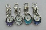 Großhandelsfußball-Form Keychain Uhr-Schlüsselring-Uhren für Förderung