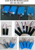 de Batterij van het Polymeer van het Lithium 1200mAh 22.2V voor Uav Quadcopter van de Hommel