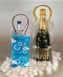 Sac en plastique imperméable à l'eau PVC Wine Cooler / PVC Cooler Wine Bag