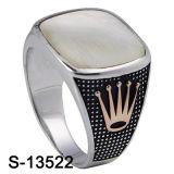 Caldo-Vendita qualità dell'anello d'argento dell'uomo del modello nuovo 925 di buona