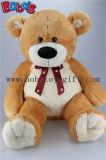 """23.5"""" géant Beige ours en peluche jouet avec du ruban d'impression Bos1028"""