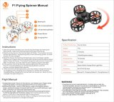 Nuevo diseño volar aviones Boomerange Fingertip Spinner