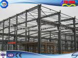 Struttura d'acciaio della costruzione prefabbricata per il workshop/magazzino (SS-001)