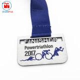Vecchia medaglia del sindacato di rettangolo di sport del metallo su ordinazione
